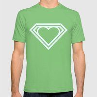 Superlove Mens Fitted Tee Grass SMALL