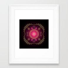 Circle Study No. 454 Framed Art Print