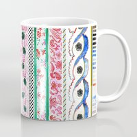 Patterned Stripes Mug