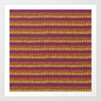 Colorful Wild Spirit Fea… Art Print