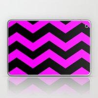Black & Pink Chevron Lin… Laptop & iPad Skin
