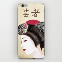 Geisha - Painting iPhone & iPod Skin