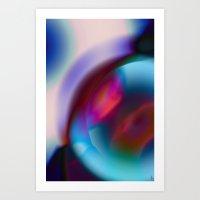 Color Vortex I Art Print