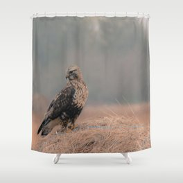 Shower Curtain - Feathered Wanderer  - Faded  Photos