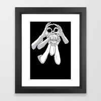 Fingers & Thumbs Framed Art Print