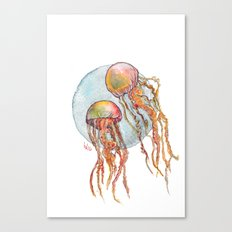 Jumpin Jellyfish Canvas Print