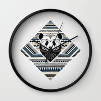 Indian Panda Wall Clock
