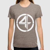 Fantastic Womens Fitted Tee Tri-Coffee SMALL