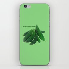 Not That I'm Bitter Or A… iPhone & iPod Skin