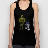 C3TYPO And R2TYPO Unisex Tank Top