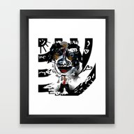 Bonkers In Love  Framed Art Print
