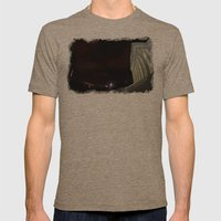 Jefferson Mens Fitted Tee Tri-Coffee SMALL