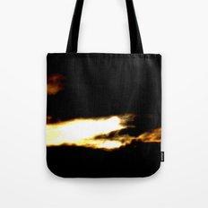 Dragon in a clouds. Tote Bag