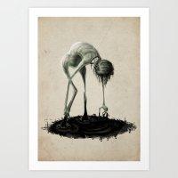 Dark Water No.2 Art Print