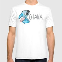 Ohana Mens Fitted Tee White SMALL