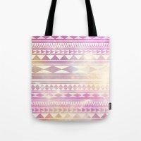 Galaxy Tribal Tote Bag