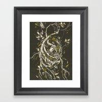The Mangrove Tree Framed Art Print