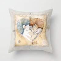 Love Sleep II Throw Pillow
