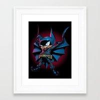 Bat-Mite Framed Art Print