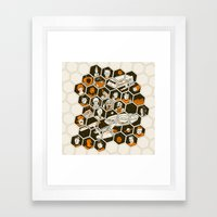 5 Year Mission Framed Art Print
