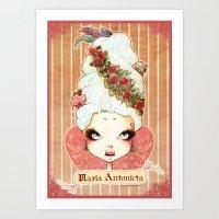 Sweet Maria Antonieta Art Print
