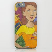 iPhone & iPod Case featuring Gigantic by Anna Gogoleva