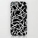 Kerplunk Black and White iPhone & iPod Case