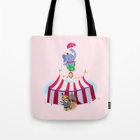 holy high wire! Tote Bag