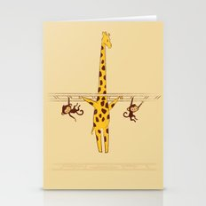 Frustrated Giraffe Stationery Cards