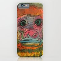 iPhone & iPod Case featuring monki by Caitlin Fargher