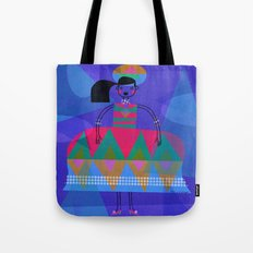 TRIANGLE DRESS Tote Bag