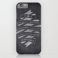 iPhone & iPod Case featuring The Truth by Victoria Spahn