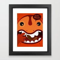 Cookie Monster Framed Art Print