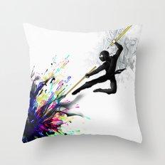 mARTial Throw Pillow