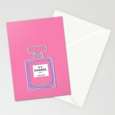 no5 pink Stationery Cards