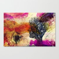 When day you will wake up.. Canvas Print