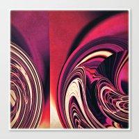 Just deco Canvas Print