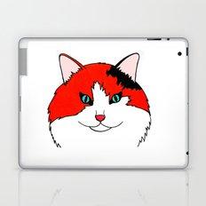 Orange Fluff - Calico Cat Laptop & iPad Skin