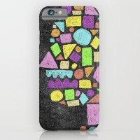 Mosaic Silhouette iPhone 6 Slim Case