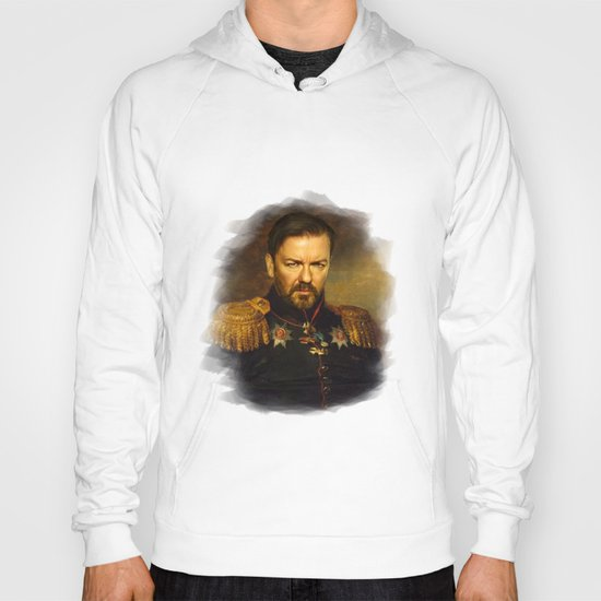 Ricky Gervais - replaceface Hoody