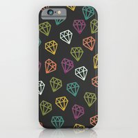 iPhone & iPod Case featuring Diamonds by David Andrew Sussman
