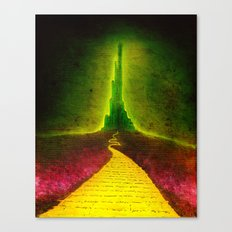 Dark Emerald Canvas Print