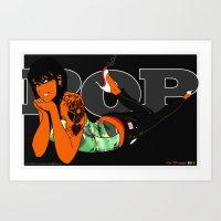 Pop 02 - Camo Edition Art Print