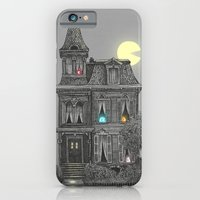 apple iPhone & iPod Cases featuring Haunted by the 80's by Terry Fan