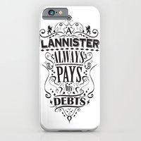 iPhone & iPod Case featuring Lannister by Michael Tesch