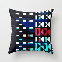 Shifted Throw Pillow