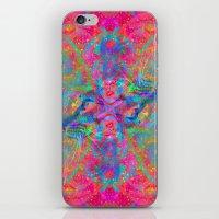Flower Trip-Sir Parker iPhone & iPod Skin