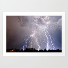 Monsoon Jewel of the Night Art Print