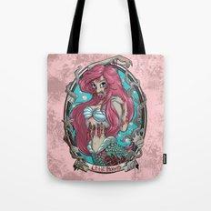 Zombie Little Mermaid Tote Bag