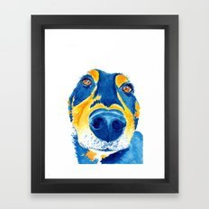 Sausage lover (sm) Framed Art Print